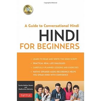 Hindi for Beginners (Book & CD Rom)