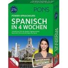 PONS Power-Sprachkurs Spanisch in 4 Wochen: Buch mit 2 CDs und 24 Online-Kurztests (Niveau A1/A2)