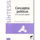 Conceptos políticos. En el contexto español