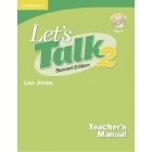 Let's Talk 2 Teacher's Manual + Audio CD
