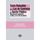 Texto Refundido de la Ley de Contratos del Sector Público. Real Decreto Legislativo 3/2011, de 14 de noviembre
