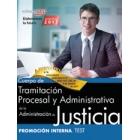 Cuerpo de tramitación procesal y administrativa. Administración de justicia. Promoción interna. Test