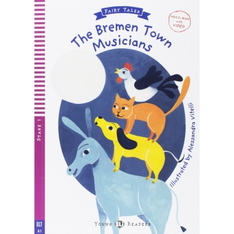 Young ELI Readers - The Bremen town musicians + Multi-ROM - Stage 2 - A1 Starters/Movers