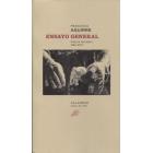 Ensayo general (Poesía reunida 1966-2017)