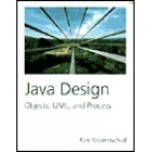 Java design : objects, UML, and process
