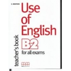 Use of English for the FCE Examination. Teacher's Book
