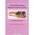 Historia de la música española. Vol.7. El folklore musical