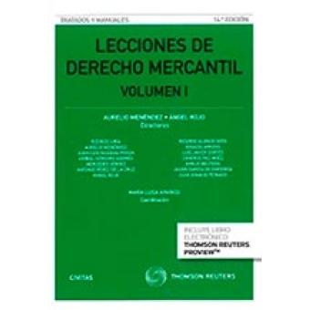 Lecciones de derecho mercantil Vol 1