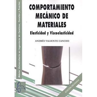 Comportamiento mecánico de materiales. Elasticidad y Viscoelasticidad