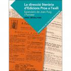 La direcció literària d'edicions Proa a l'exili (Epistolaris de Joan Puig i Ferreter)
