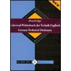 Routledge German technical dictionary : Englisch-Deutsch