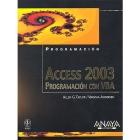 Programacion con VBA. ACCESS 2003