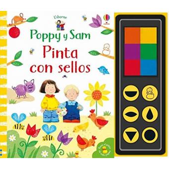 Poppy y Sam. Pinta Con Sellos