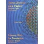 Textos literarios para traducir. Español-inglés (Nivel avanzado)