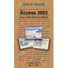 Guía Iniciación. Access 2003