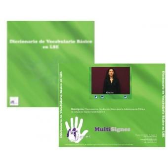 Diccionario de Vocabulario Básico en LSE. CD-ROM