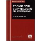 Código civil y ley y reglamento del registro civil