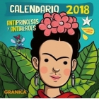 Calendario Antiprincesas y Antihéroes 2018
