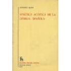 Fonética acústica de la lengua española