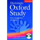 Diccionario Oxford Study  (+CD-ROM) 2ª  ed.