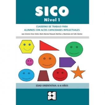 SICO - Nivel 1.Cuaderno de trabajo para alumnos con altas capacidades intelectuales. 6-8 años