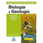 Cuerpo de profesores de enseñanza secundaria. Biología y geología. Temario. Volumen i. Geología