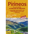 Mapa de los Pirineos 1:340.000 (desplegable)