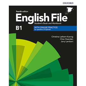 English File 4th edition - Intermediate - Student's Book + Workbook with Key Pack