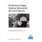 Escritoras en lengua francesa: renovación del canon literario