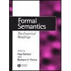Formal semantics : the essential readings