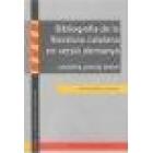 Bibliografía de la literatura catalana en versió alemanya