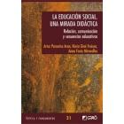 Educación social una mirada didáctica