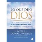 Lo que dijo Dios: los 25 mensaje esenciales de