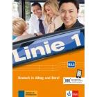 Linie 1 B2.2, Kurs- und Übungsbuch