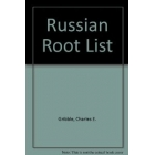 Russian Root List with a Sketch of Word-Formation