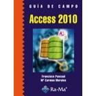 Guía de campo Access 2010
