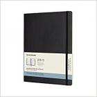 Moleskine* Agenda-Cuaderno Mensual 18 meses XLarge (rústica-negra)