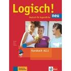 Logisch! neu a2.1, libro del alumno con audio online