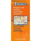 Bélgica Sur, Ardenne/Belgiques Sud, Ardenne/Zuid-België, Ardennen (regional-naranja) 534