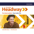 New Headway 5th edition - Pre-Intermediate - Class CD