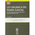 Ley orgánica del poder judicial 24ª edición. con todas las disposiciones del Poder Judical Estatuto del Ministeiro Fiscal