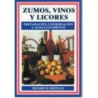 Zumos, vinos y licores preparación, conservación y almacenamiento