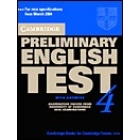 Cambridge Preliminary English Test 4. Student's Book with answers