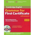 Grammar for First Certificate with Answers (+ Audio CD) 2n ed.