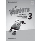 A1 Movers 3 Answer Booklet. Authentic Examination Papers