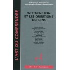 L'ART DU COMPRENDRE, Nº 20 (2011): Wittgenstein et la question du sens