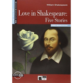 Love in Shakespeare: Five Stories. Book   CD