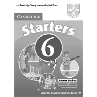 Starters 6 Answer Booklet