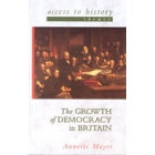 The growth of democracy in Britain