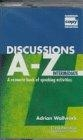 Discussions. A- Z. Intermediate cassette
